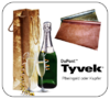 Tyvek Bottle Bag rheingold